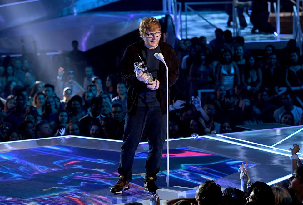 Ed Sheeran 'Shape of You' Spotify Most-Streamed