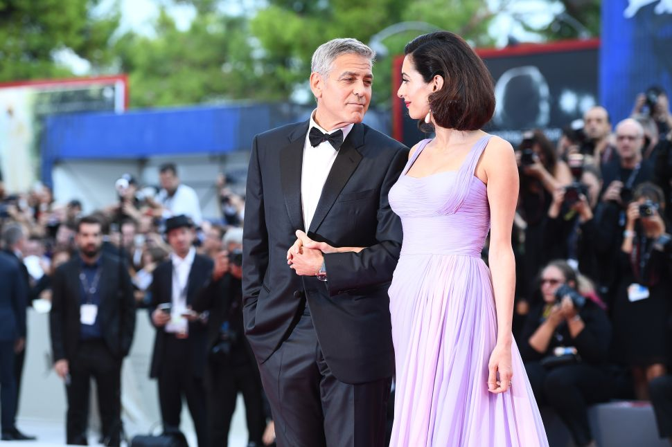 George Clooney Fertility Drugs