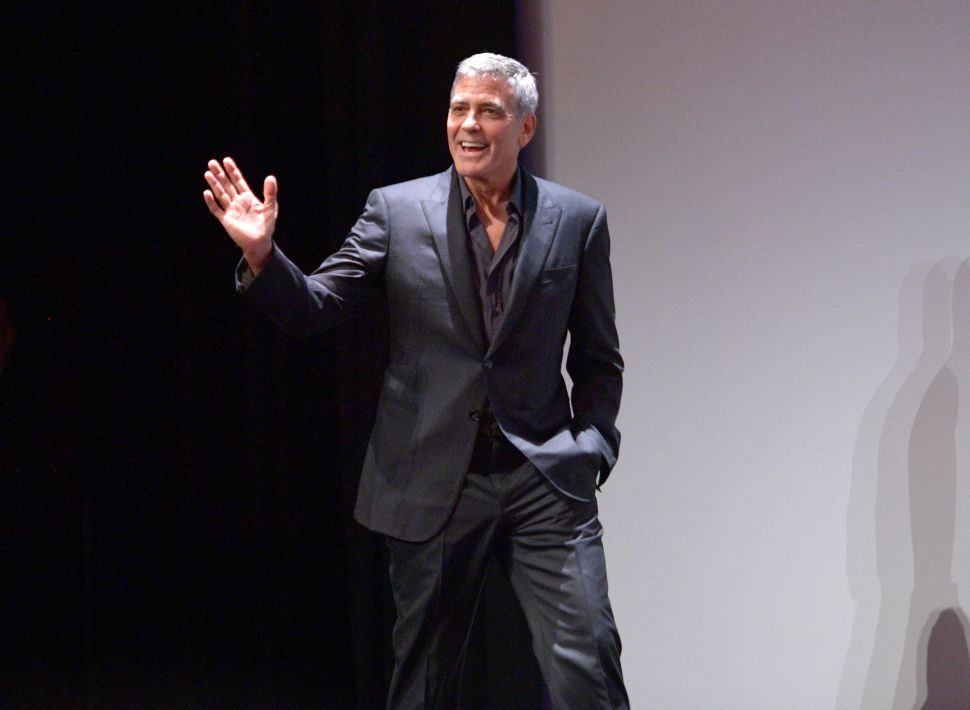 Goerge Clooney Rips Hillary Clinton