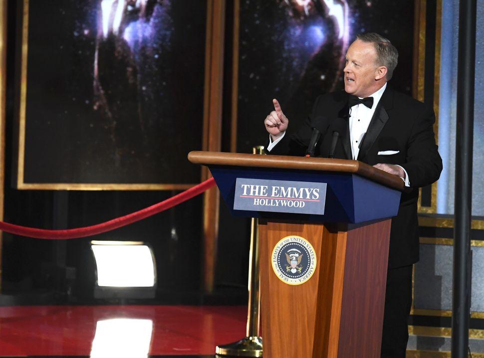 Sean Spicer Emmys Backlash