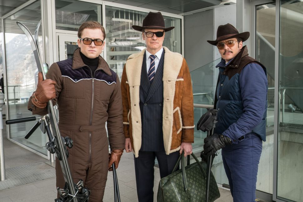 KINGSMAN: THE GOLDEN CIRCLE movie reviews