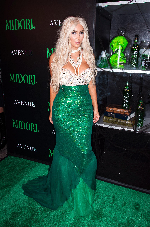 kim kardashian mermaid costume