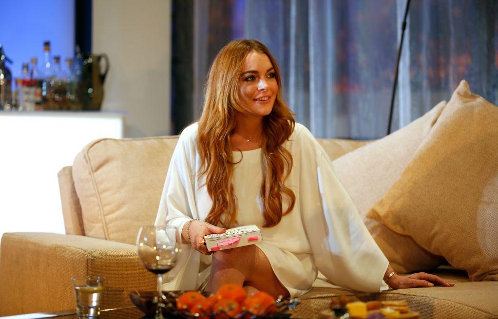 Lindsay Lohan Defends Harvey Weinstein