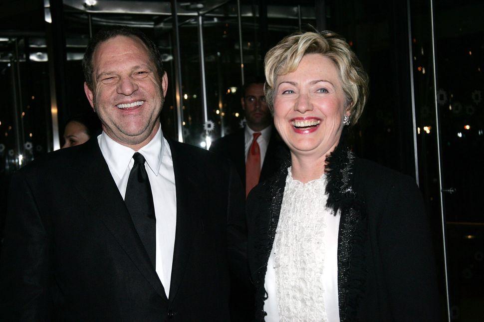Clinton Foundation Harvey Weinstein Contribution