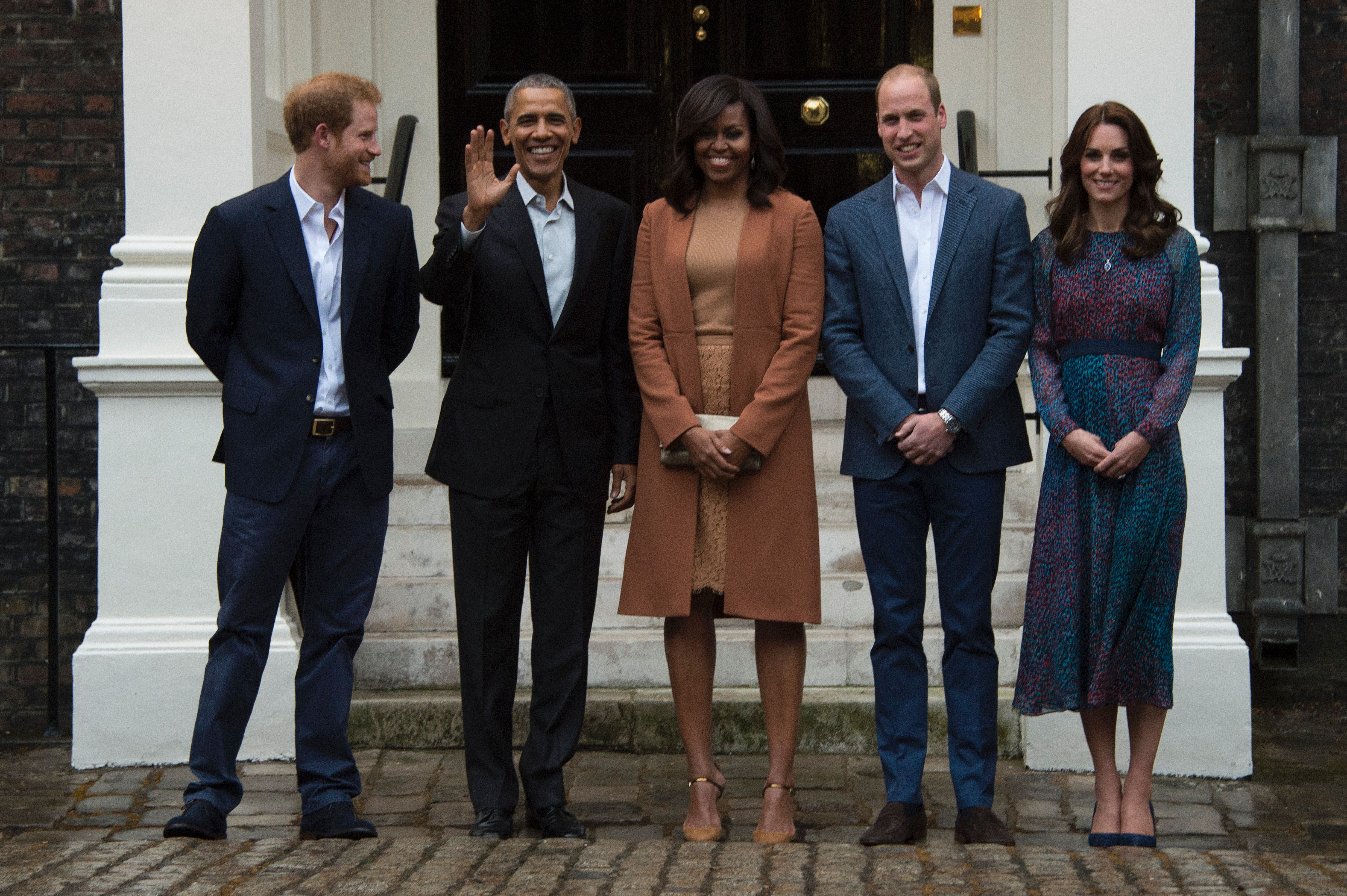 prince harry obama royal family