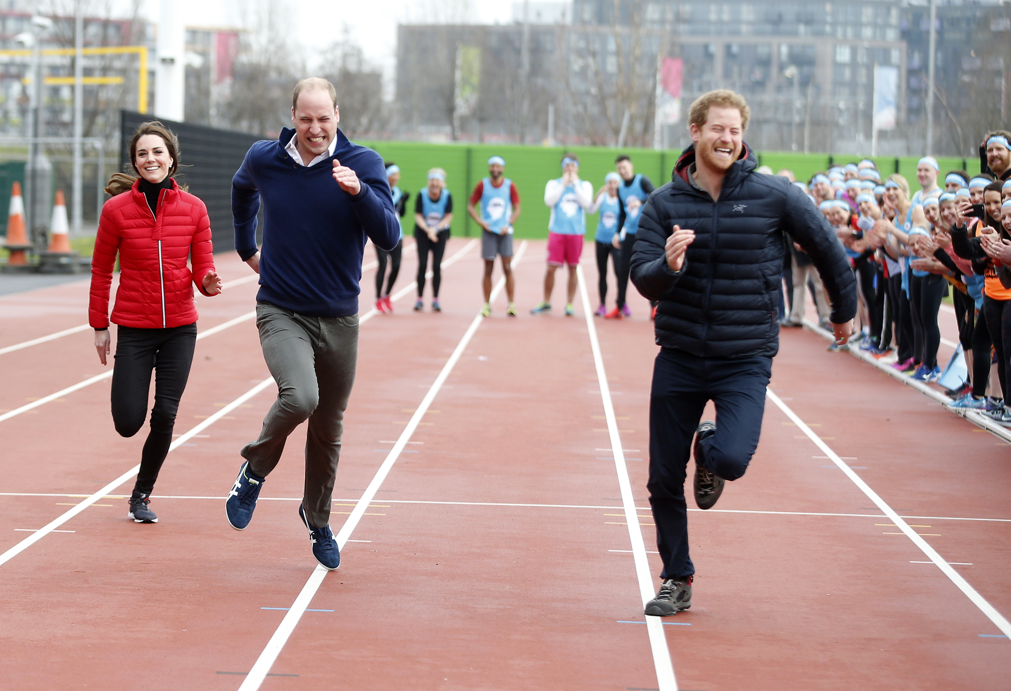 british royals workout