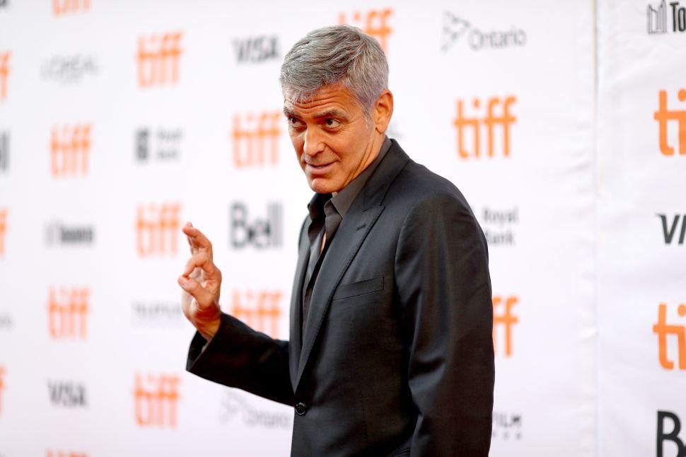 George Clooney Harvey Weinstein Comments