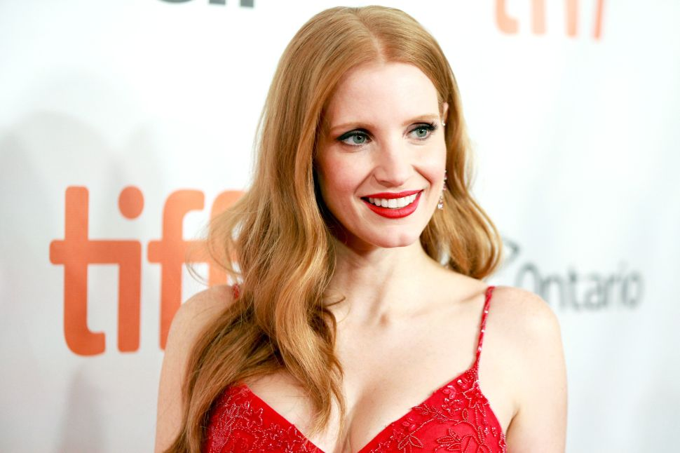 Jessica Chastain 'Woman Walks Ahead' A24