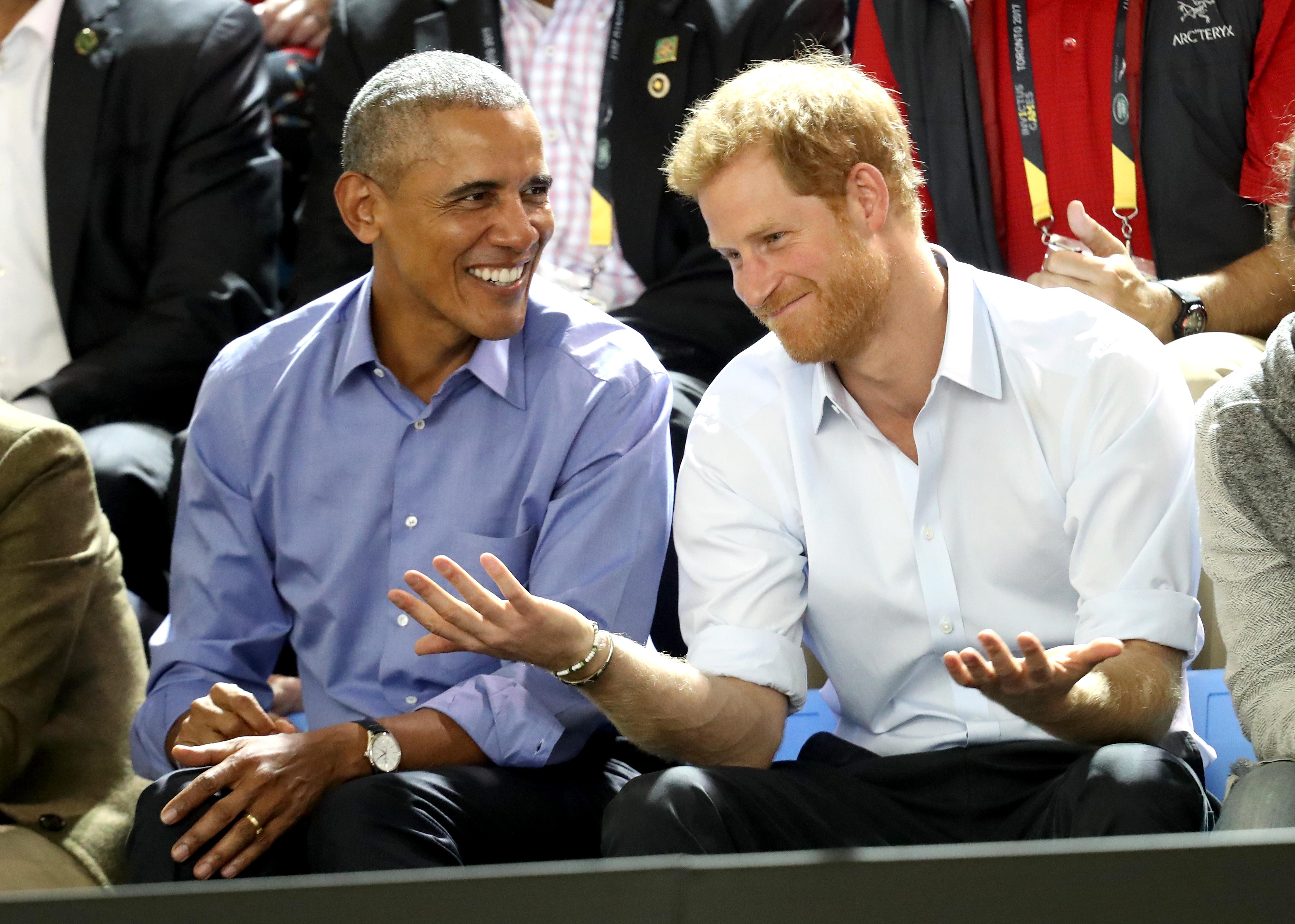 prince harry obama invictus games