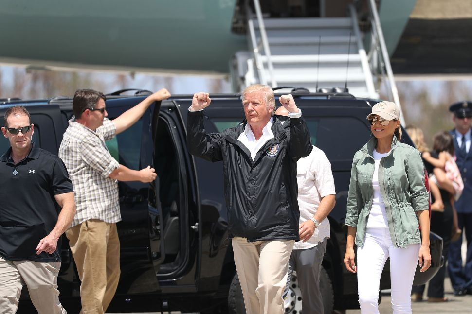 President Trump Puerto Rico Celebrities