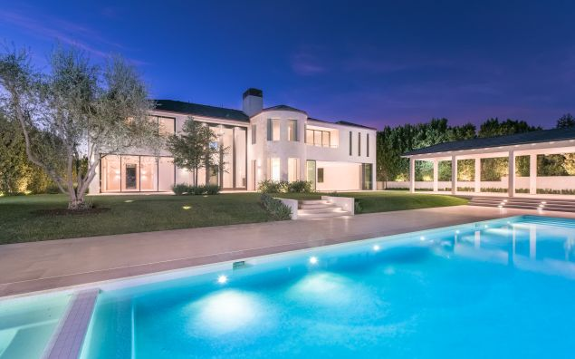 The palatial Bel Air Crest house sold for $17.8 million to Marina Acton.