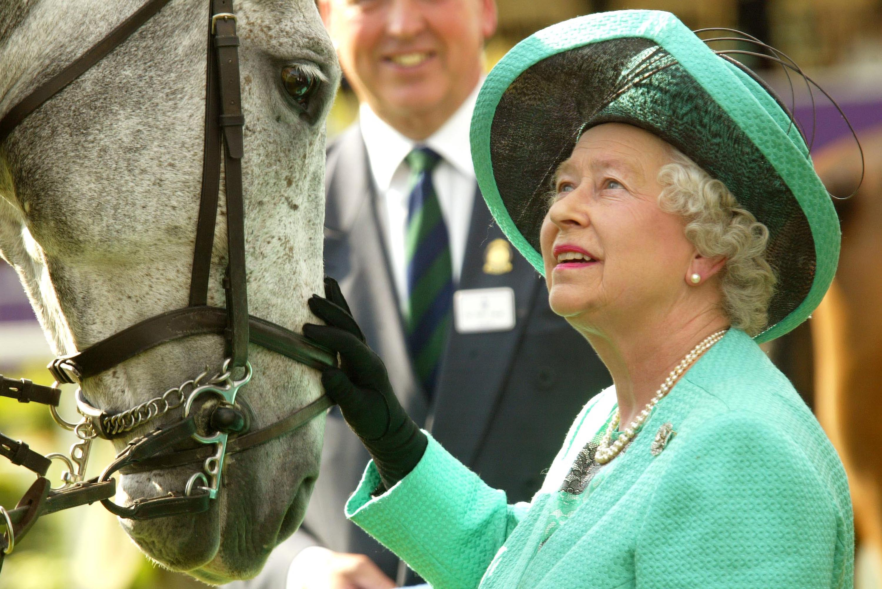 The Queen and His Royal Highness The Duke of Edinburgh.