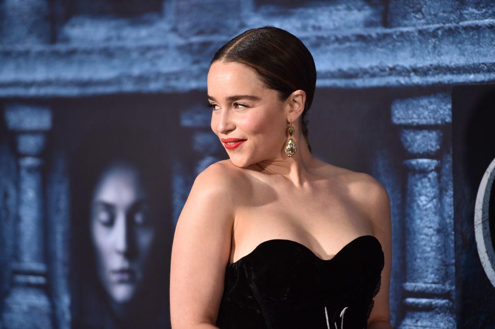 'Gem of Thrones' Nudity Emilia Clarke