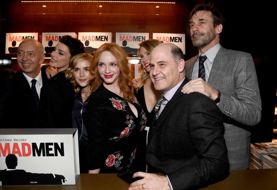 Matthew Weiner Sexual Harassment