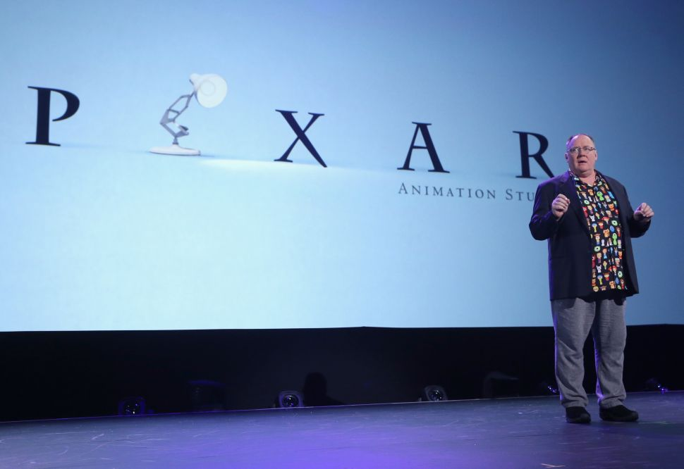 John Lasseter Pixar Leave of Absence