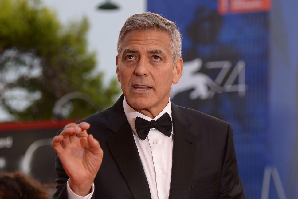 George Clooney 'Catch-22' TV