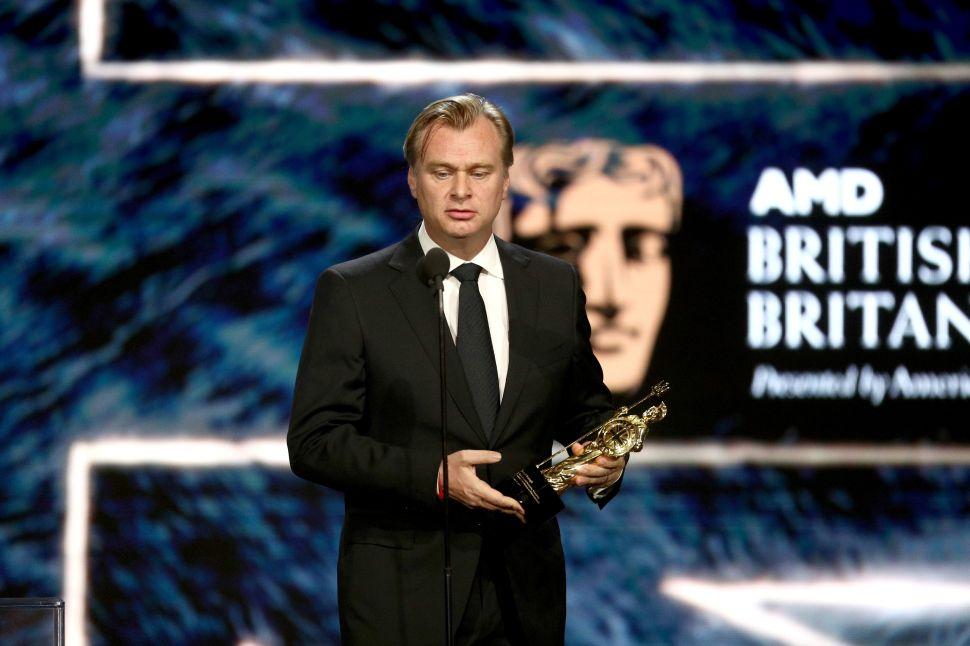 Chrstopher Nolan Netflix Apology