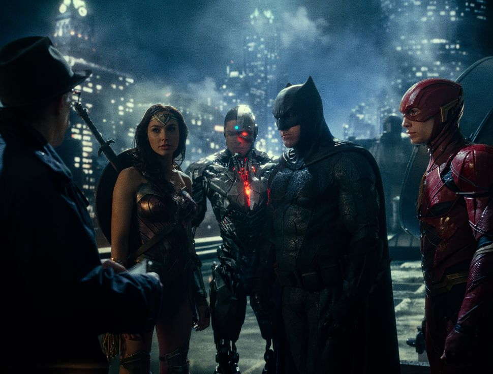 'Justice League' Rotten Tomatoes Score Revealed