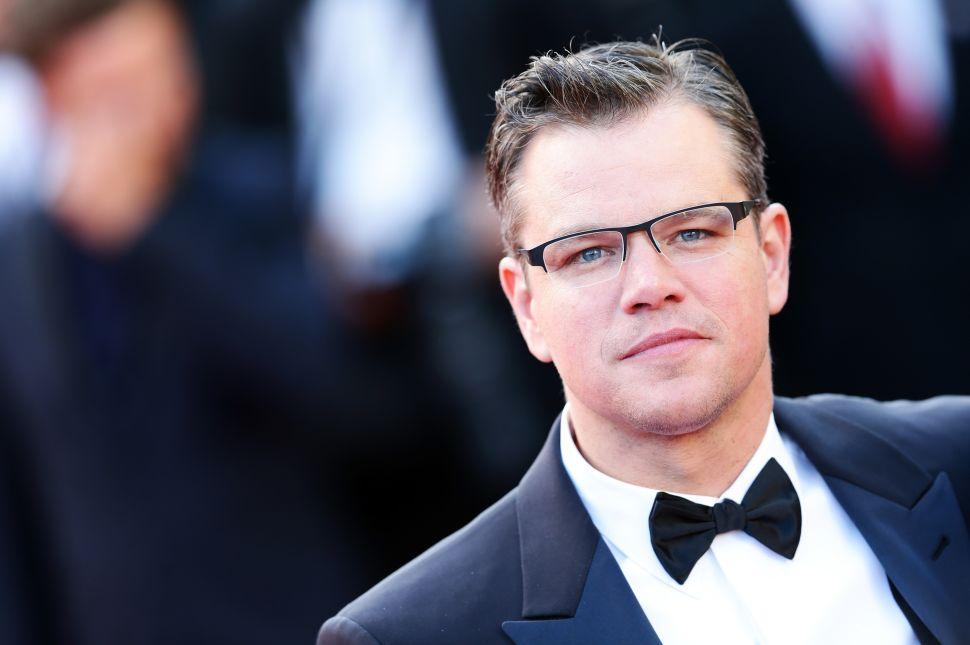 Matt Damon Harvey Weinstein Sexual Harassment