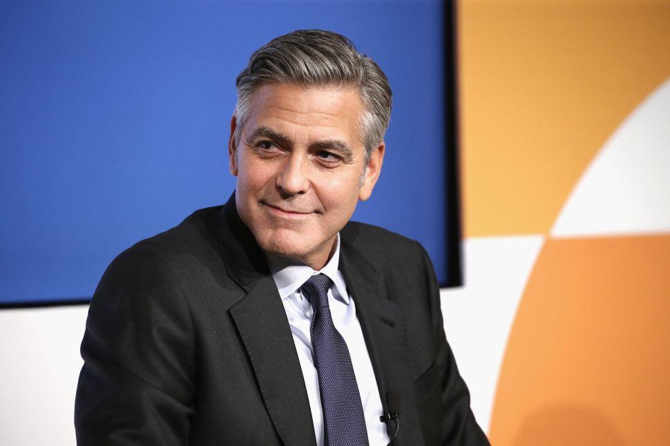 George Clooney $1 Million Rande Gerber