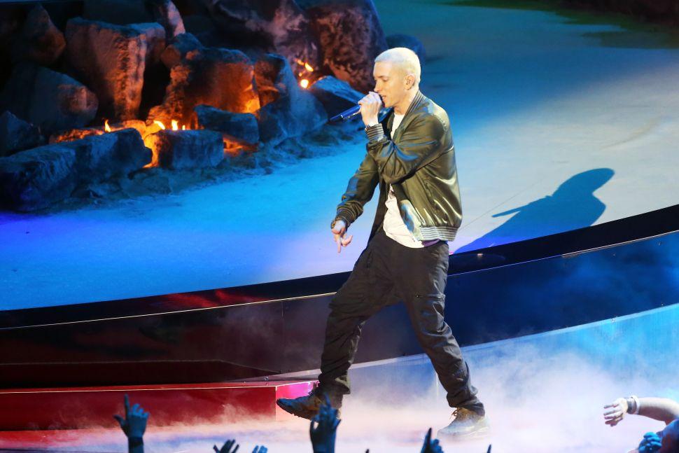 Eminem Revivial Sales Donald Trump