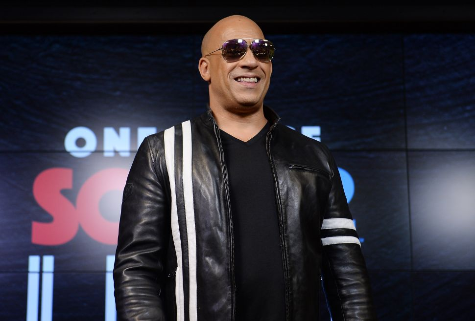 Vin Diesel Top Grossing Actor Box Office