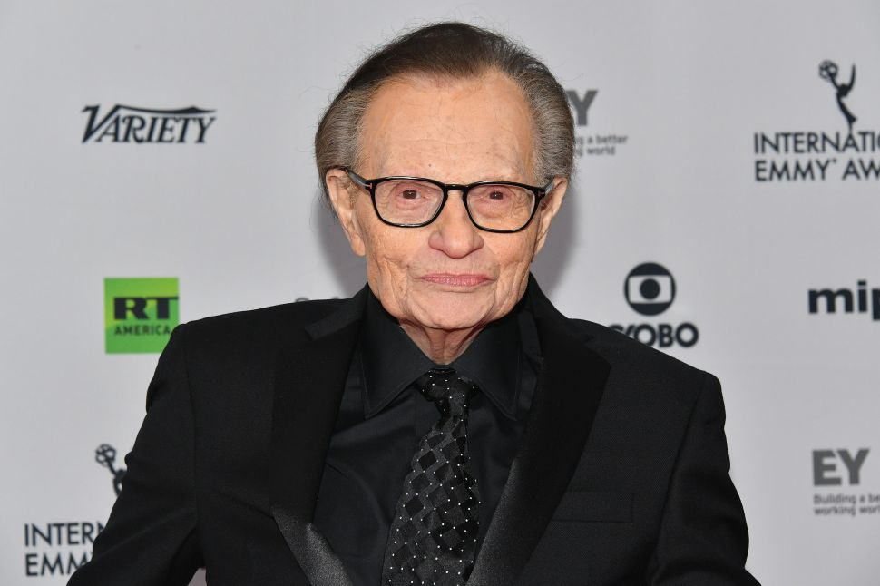 Larry King Denies Sexual Harassment