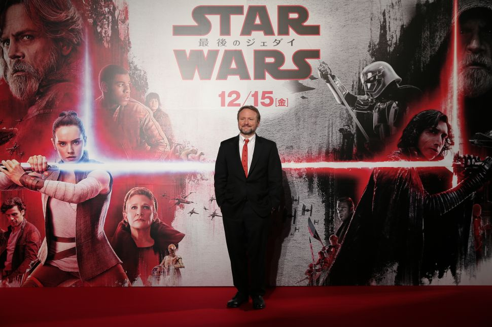 'Star Wars: The Last Jedi' Rian Johnson Female Star Wars Director