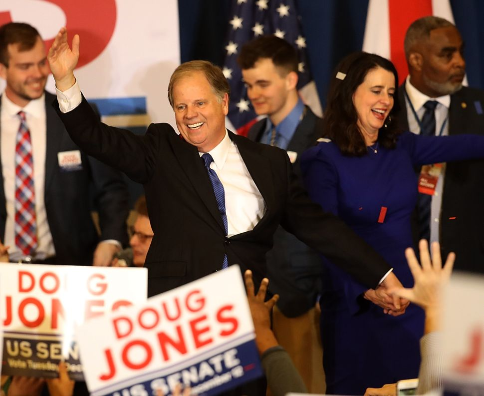 Doug Jones Roy Moore Hollywood Reaction