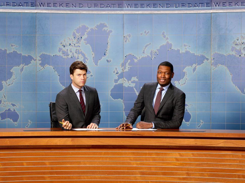 Saturday Night Live Michael Che Colin Jost