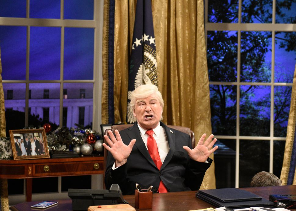 Alec Baldwin Donald Trump Broadway