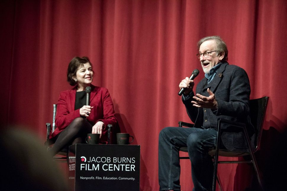 Steven Spielberg The Post Interview