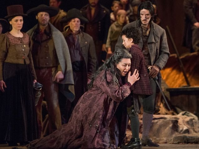 Mezzo Anita Rachvelishvili iluminates a complex character in the Met's 'Trovatore'.