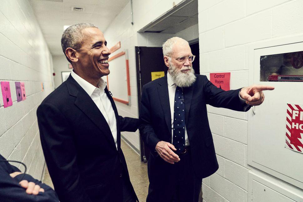 David Letterman Netflix Obama