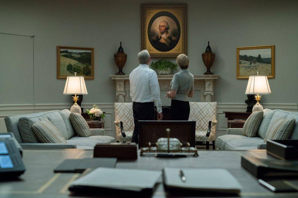 House of Cards Diane Lane Greg Kinnear