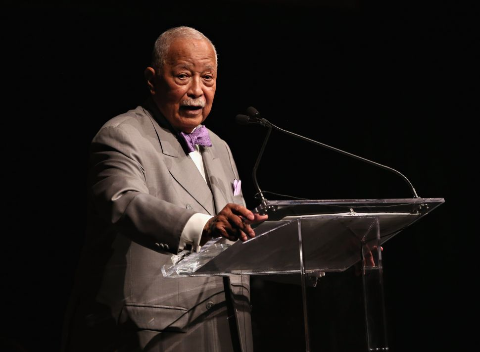 David Dinkins - 2021 Mayoral Race