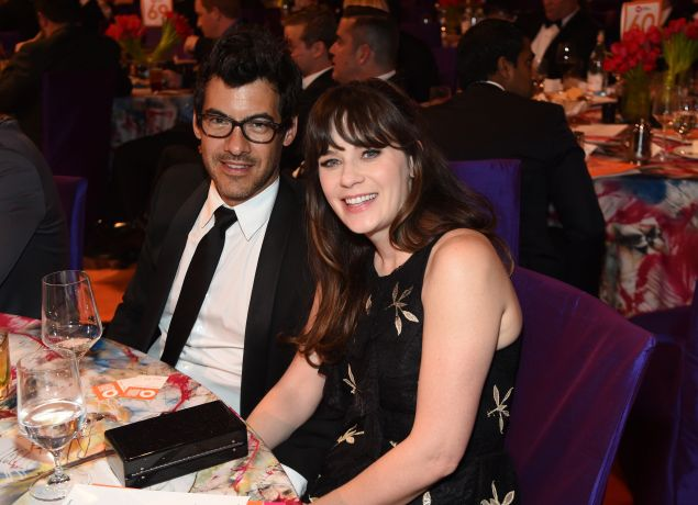 Jacob Pechenik and Zooey Deschanel aren't moving too far away.