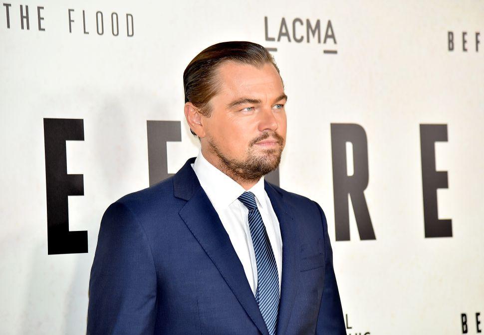 Leonardo DiCaprio Quentin Tarantino Charles Manson