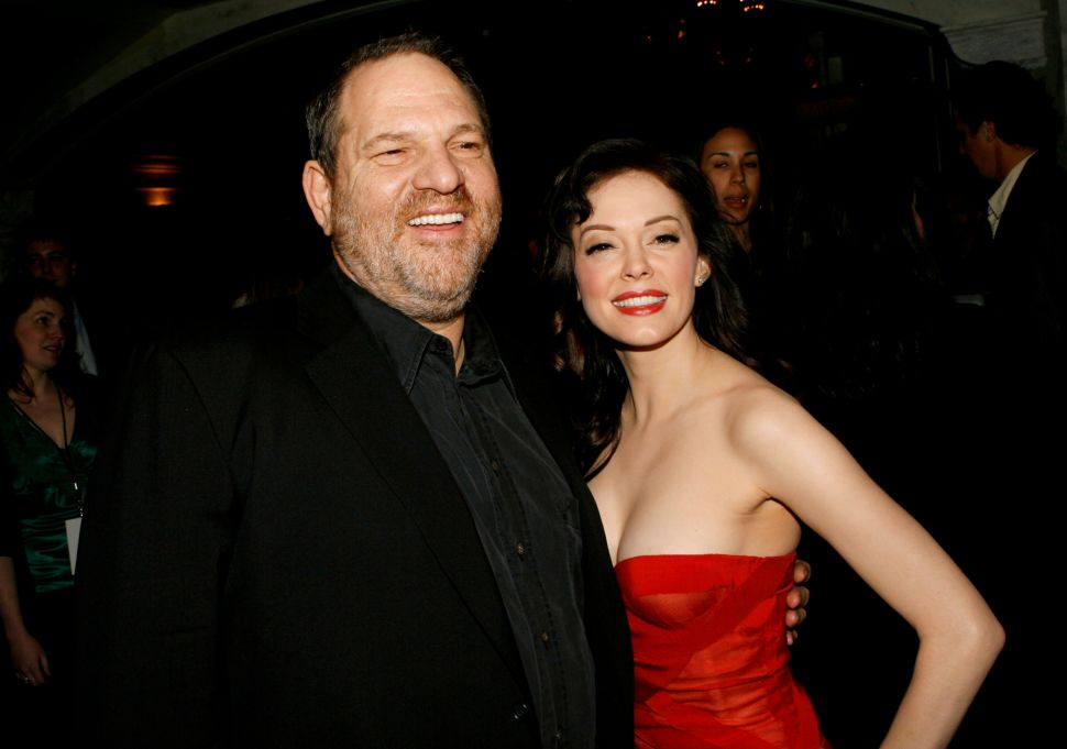 Harvey Weinstein Responds Rose McGowan Sexual Assault