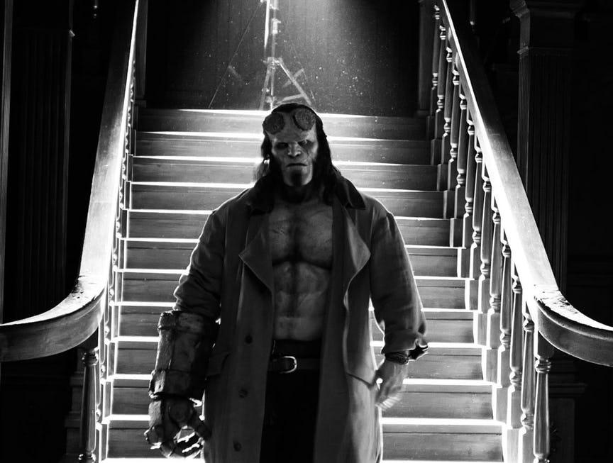 David Harbour Hellboy Stranger Things