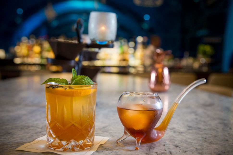 Indulge in bottomless Dom Perignon champagne and hand-crafted cocktails.