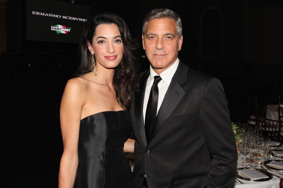 George Amal Clooney Parkland Donation