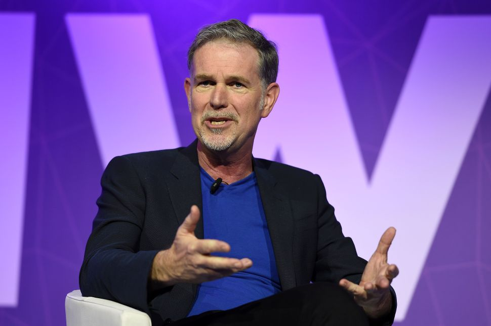 Netflix Subscribers Reed Hastings India
