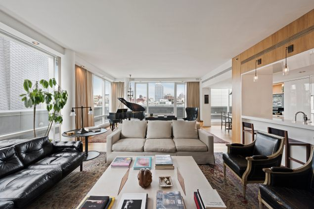 Justin Timberlake is finally parting with his Soho penthouse. Click through to see inside.