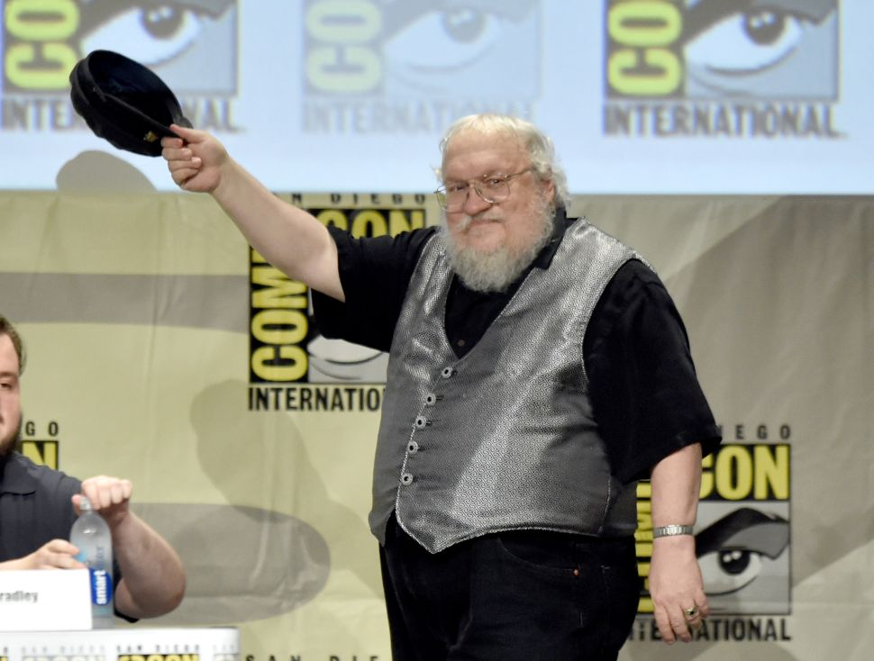 Winds of Winter Release Date George R.R. Martin