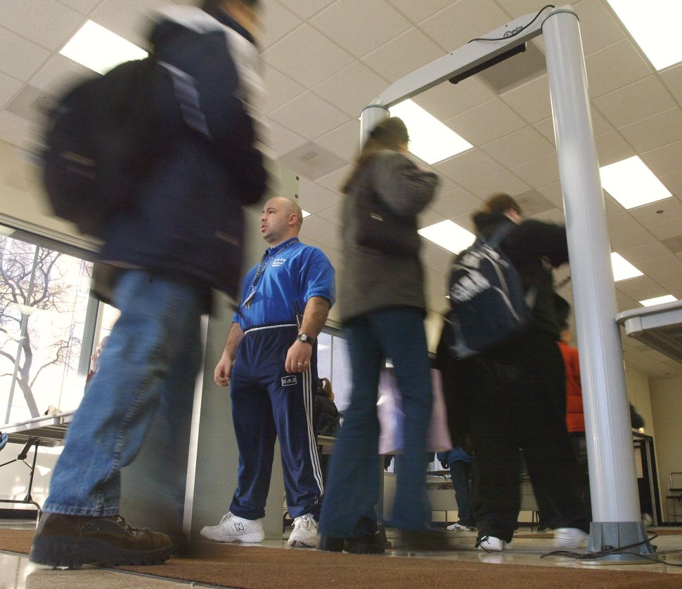 Metal Detectors in Schools