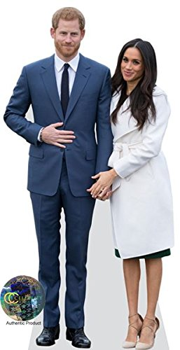 Prince Harry And Meghan Markle Life Size Cutout