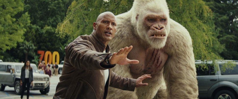 Rampage Box Office Dwayne Johnson