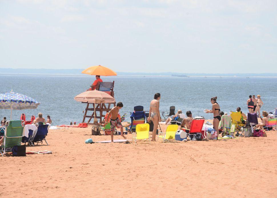 Cedar Grove Beach on Staten Island