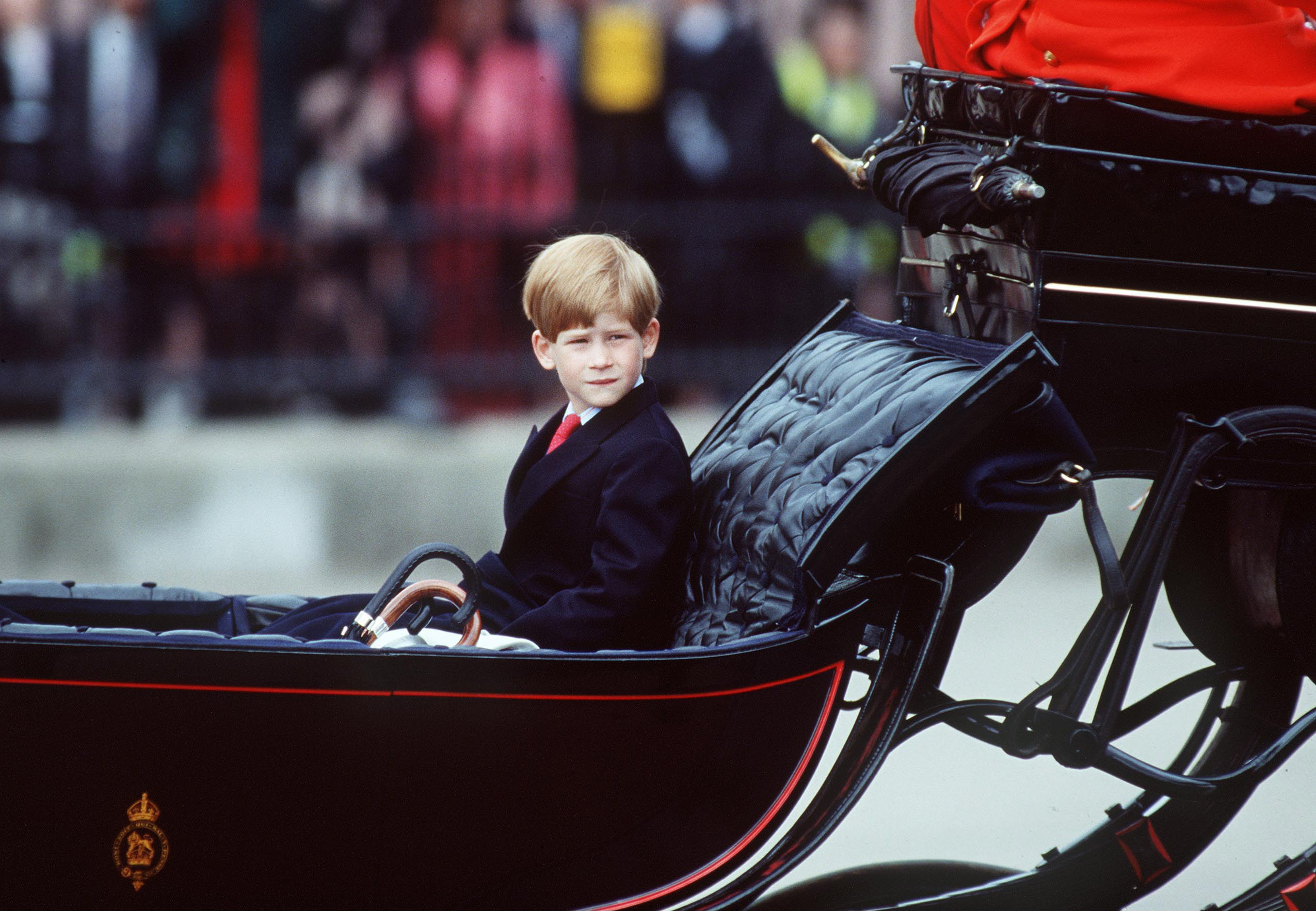 prince harry carriage